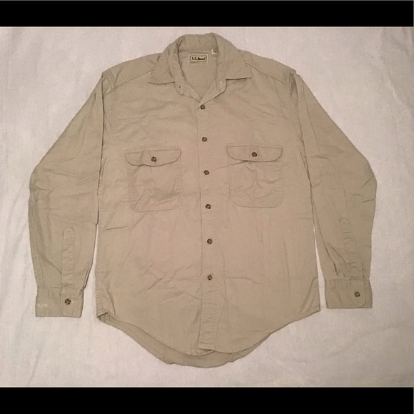 L.L. Bean Other - Vintage 90s LL Bean Long Sleeve Button Down Shirt